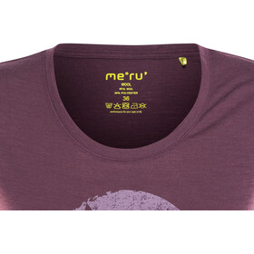 Meru W's Enköping SS Shirt Crushed Violet
